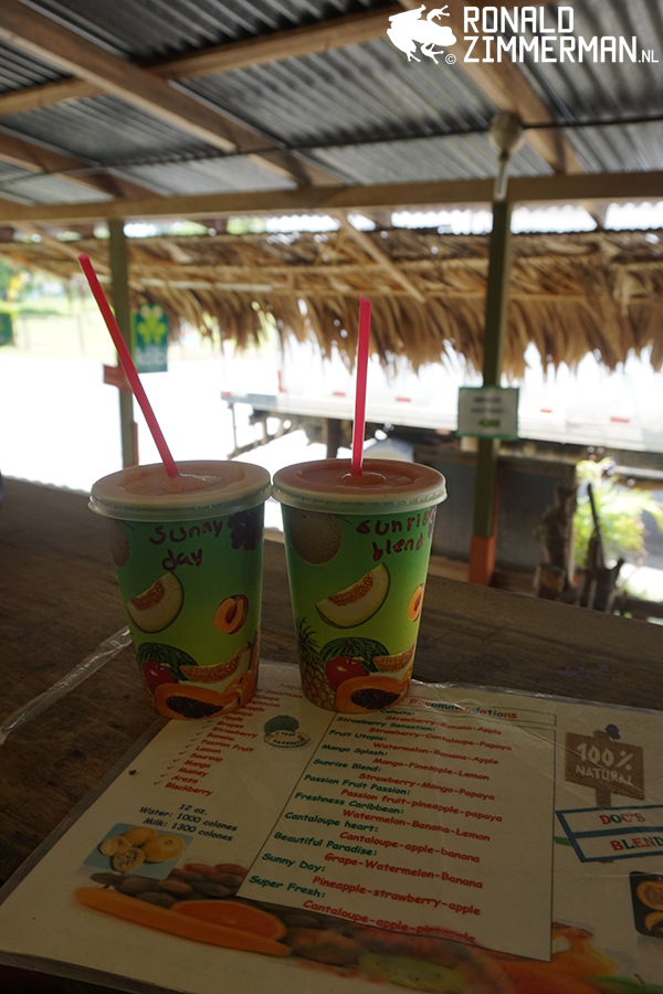 Best juice in Cahuita